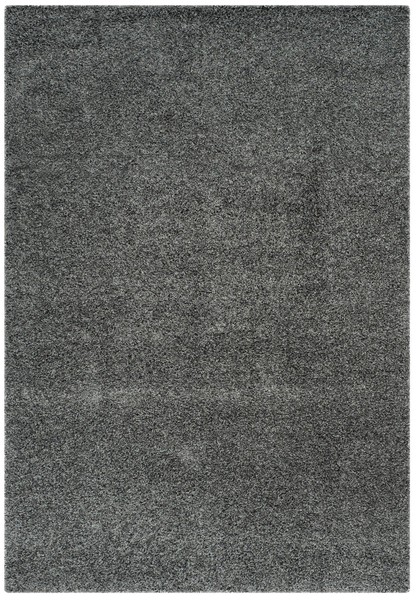 Nickols Shag Gray Area Rug In 2019