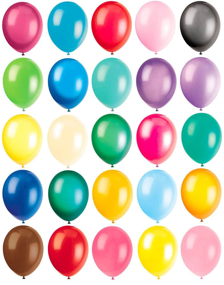 """10 x 12/"""" Balloons Solid Colours Latex Balloon Birthday Celebration Party Helium"""