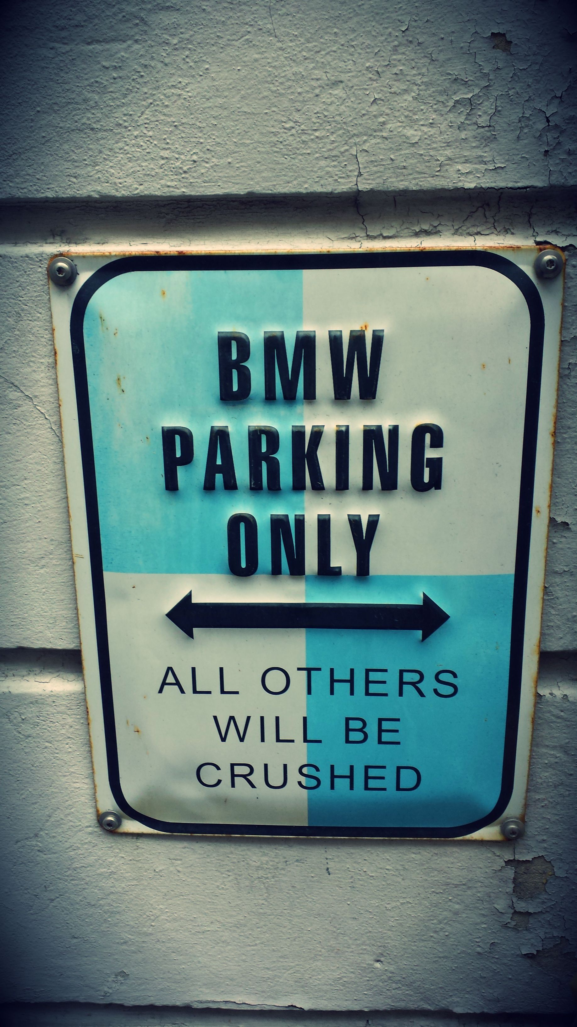 BMW Parking Only Fun Sign Cars Pinterest BMW And Cars - Bmw parking only signs
