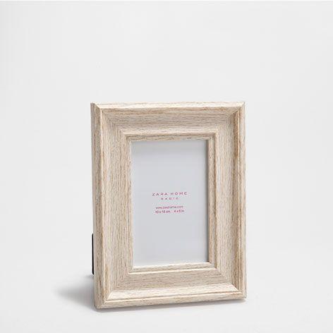 Natural Wooden Effect Frame Frames Decor Home Collection Sale Zara Home United States Zara Home Frame Decor Frame