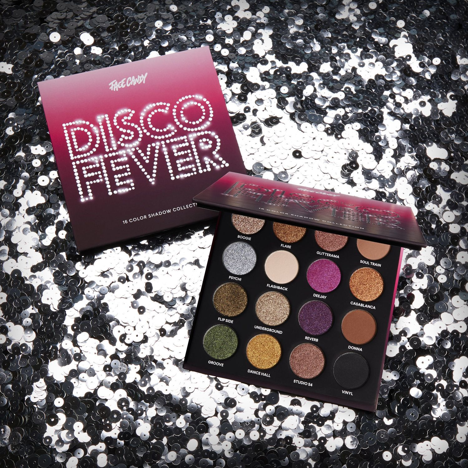 Face Candy Disco Fever Palette (With images) Disco