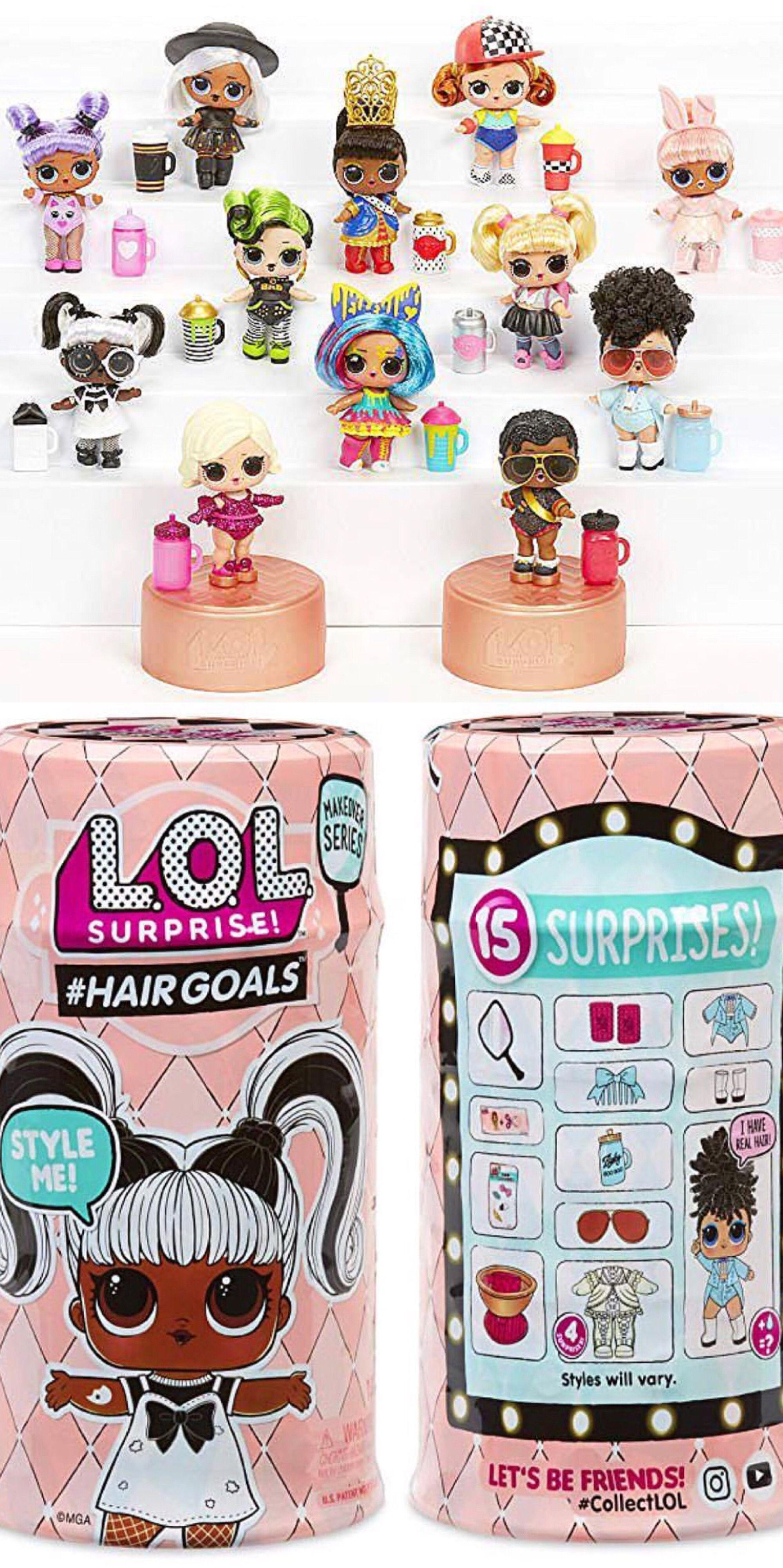 LOL Surprise Lil Yang QT Cutie Doll Lils Little Sister ColorChanger Complete NEW