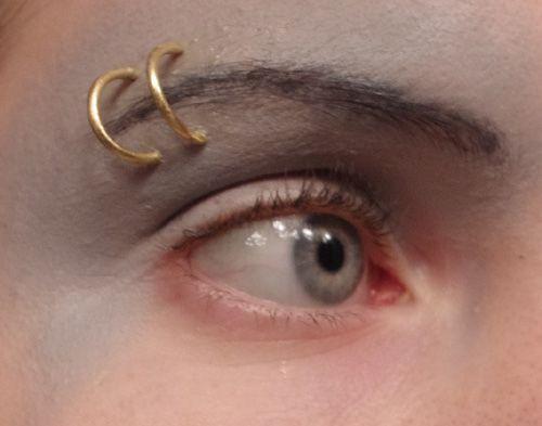Fake Piercings Tutorial By Yaexrae On Tumblr Eyebrow Ring