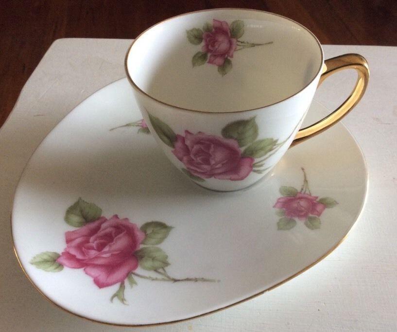 Westminster Australia Fine China Teacup Tennis Set Vintage Collectable Pink Rose Tea Cups Set Vintage Fine China