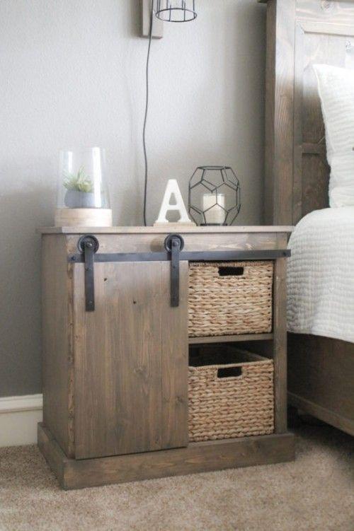 DIY NachttischIdeen mit originellem Vintage Design und
