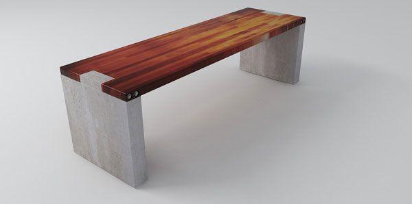 Custom Furniture Design Proposal Google Search Concrete Furniture Yard Furniture Plans Concrete Wood