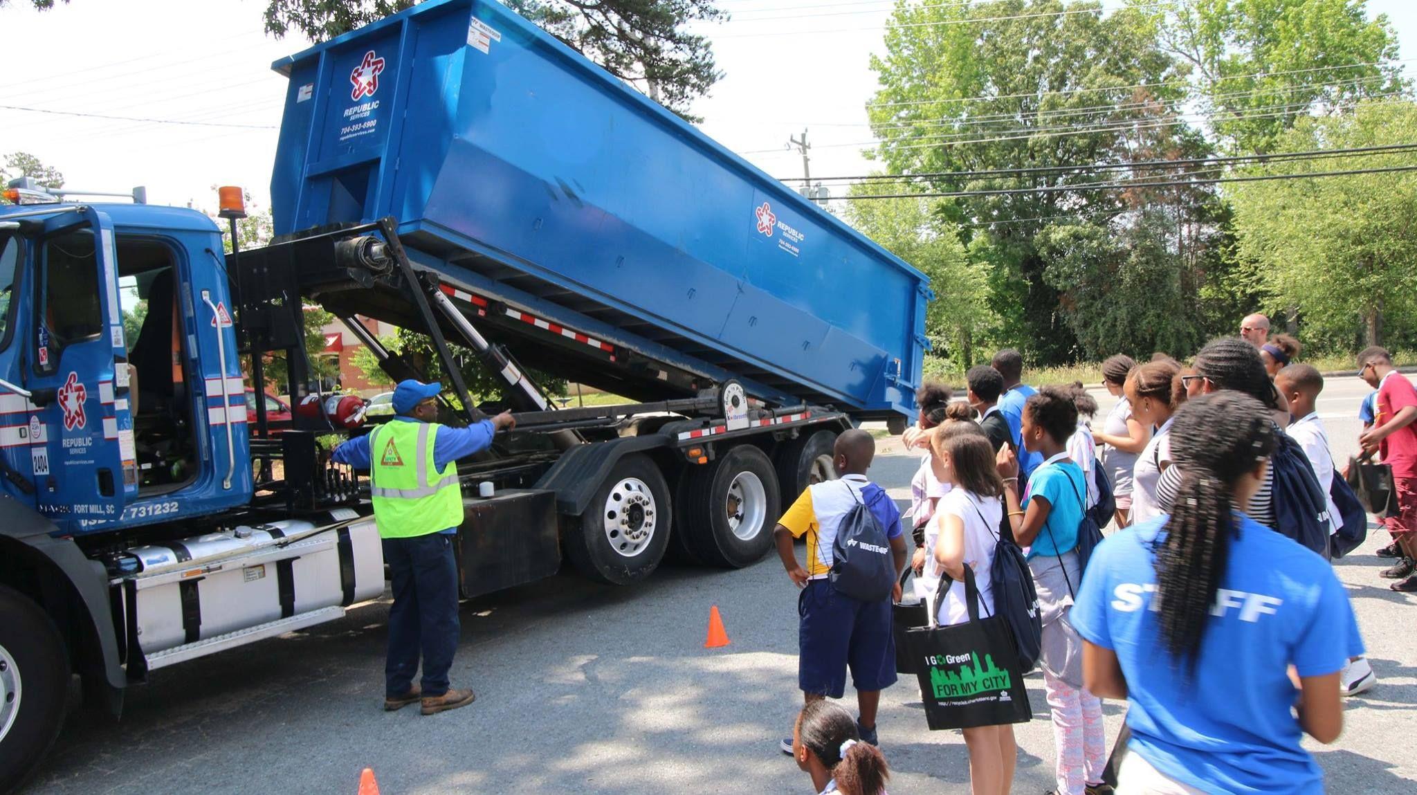 Wastequip Celebrates Waste services, Dump trucks, Men's day