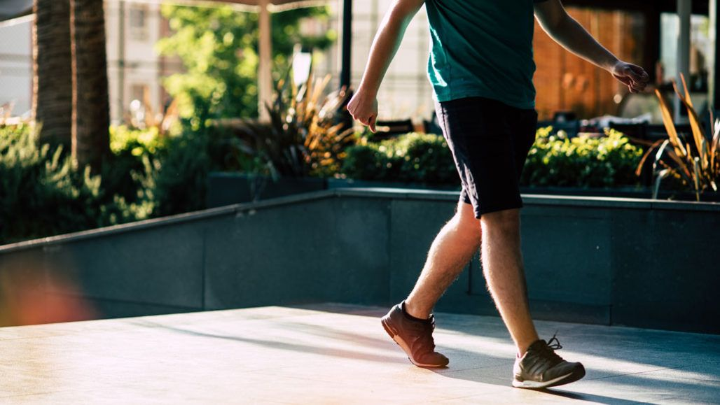 The number of steps per day, not speed, is linked to