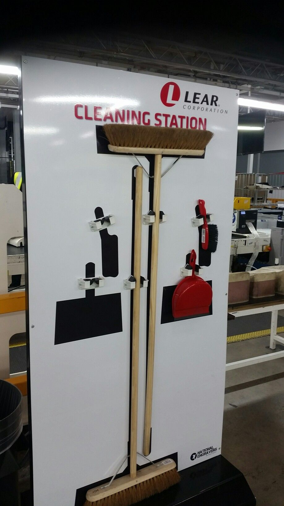 5s Mobile Cleaning Station 5s Visual Management Lean