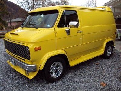 Custom Van Shows Show Cars Classifieds Custom Vans Chevrolet