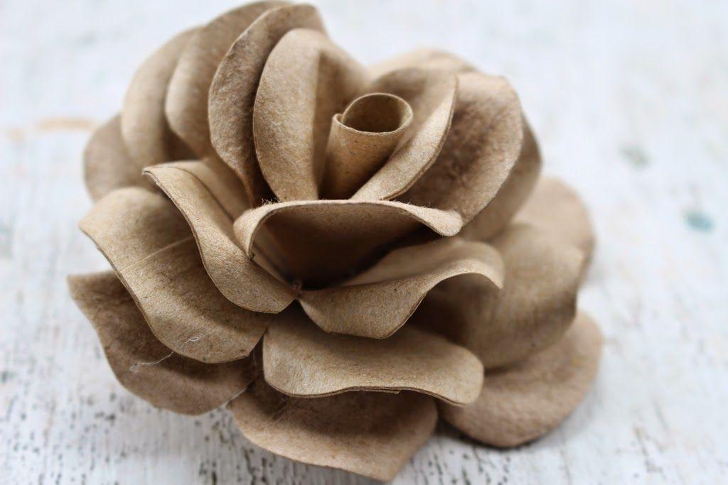 Reduce reuse recycle replenish restore diy how to make roses diy how to make roses using empty toilet tissue tubes toilet cardboard rolls mightylinksfo