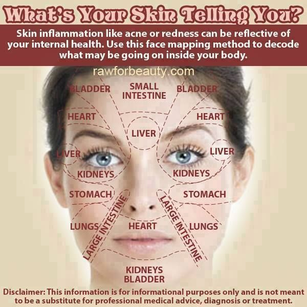 acne face map what s your skin telling you do you acne on