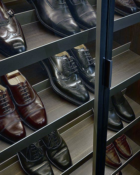 Organized Closet Mens Dress Shoe Rack