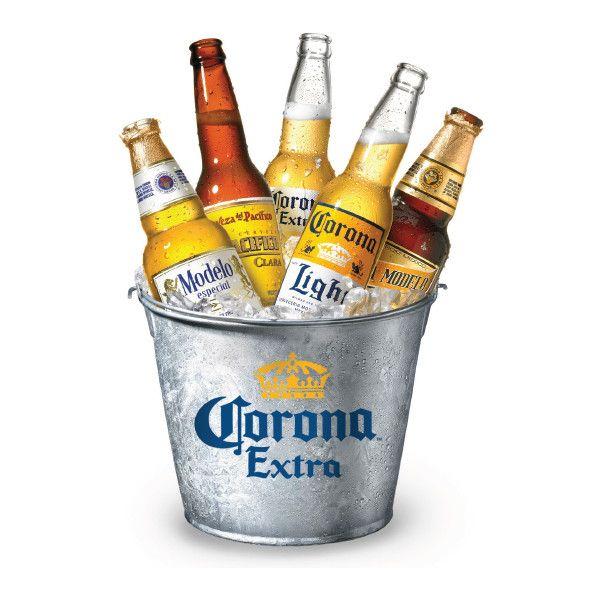 Corona Extra Galvanized Metal Beer Bucket Beer Bucket Wine Bucket Galvanized Metal