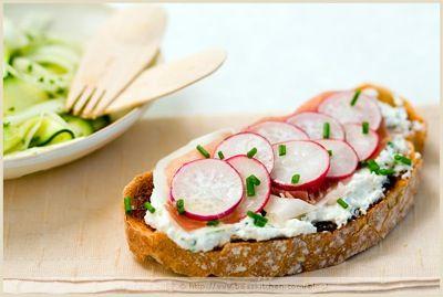 Turnip spread on toast, breakie