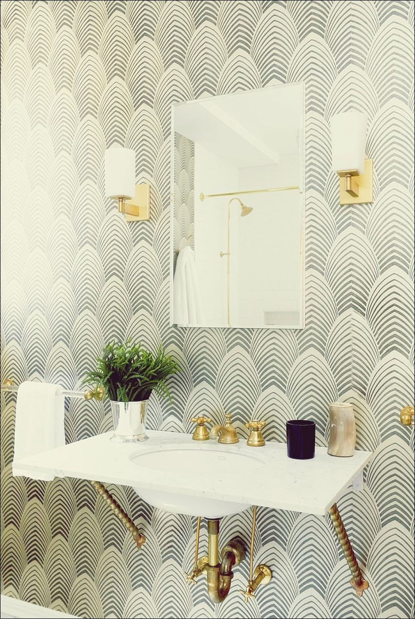 10 Tipps Fur Rocking Badezimmer Wallpaper Deko Interieur Art Deco Hintergrundbild Kleines Bad Gestalten