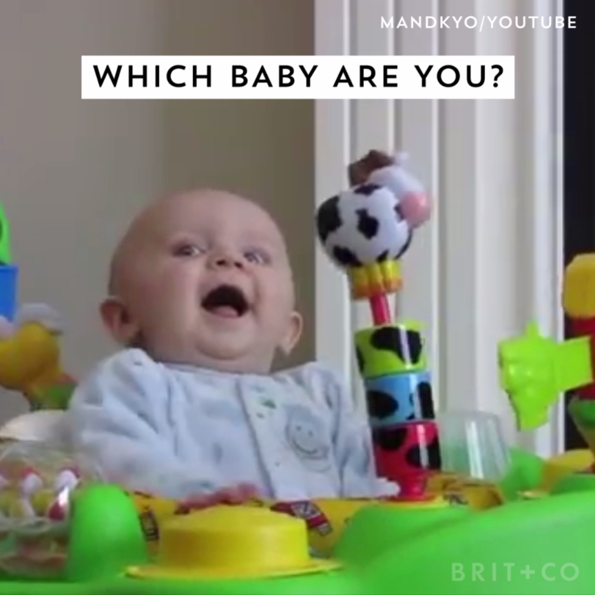 Latest Funny Babies  Here's a video of various babies. Which one do you identify with? 5