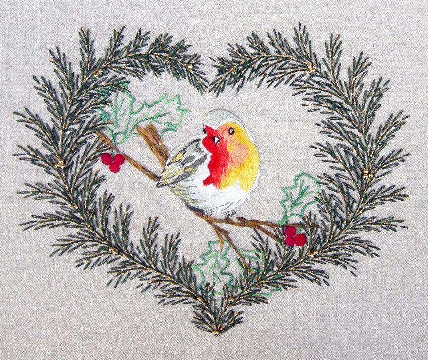 Christmas Robin kit