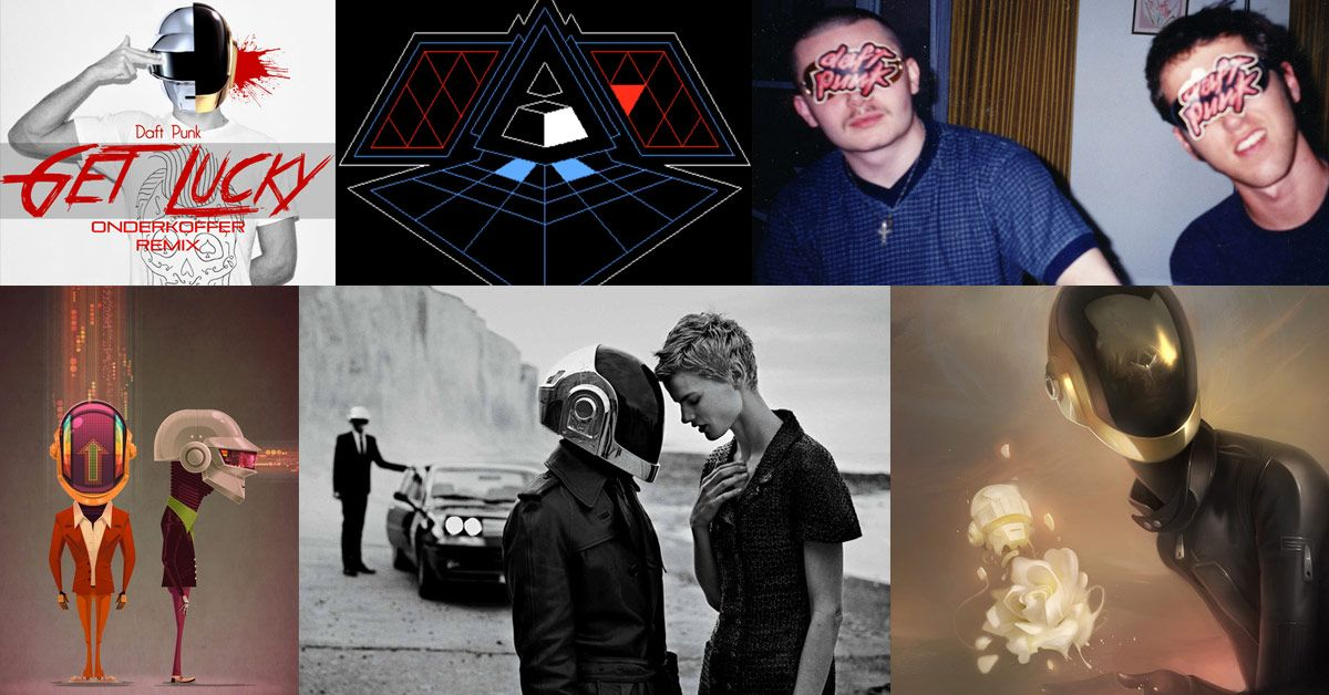 Examples of the contributed videos, artwork, photographs and music streams on neverover.co.