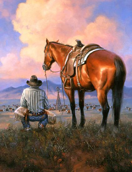 New West The Old West Art Of Jack Sorenson American