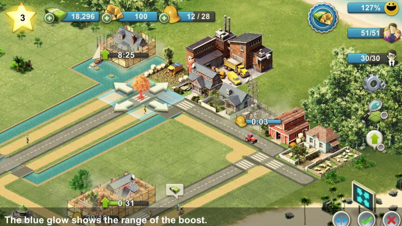 Android sim game