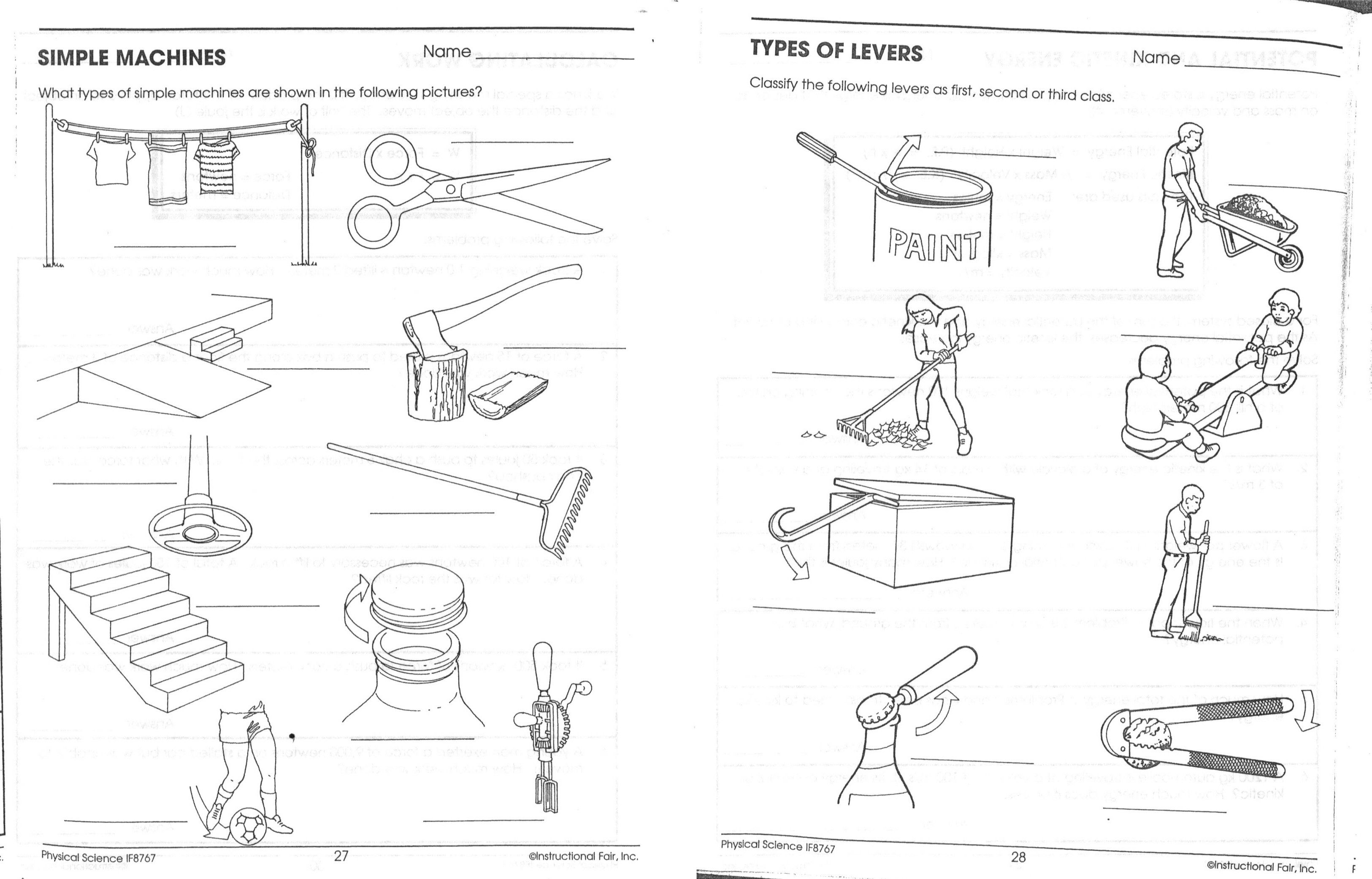Kiic Energy Worksheet Elementary