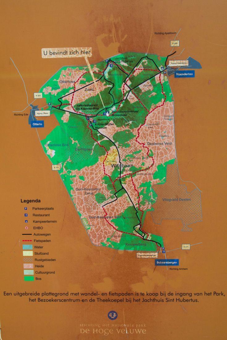 Pedaling the Bike Trails of Hoge Veluwe Windmill