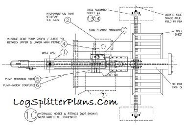 home built log splitter design plans - Home Built Log Splitter Plans