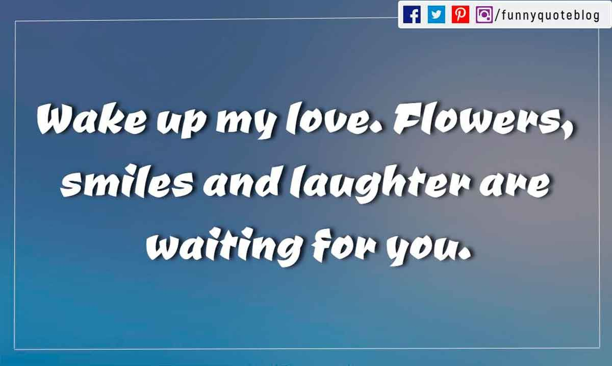Good Morning My Love Quotes For Him 51 Good Morning Love Quotes With Beautiful Images  Boyfriend