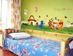 67 Large Wall Sticker Winnie The Pooh Kids Room Decals Nursery