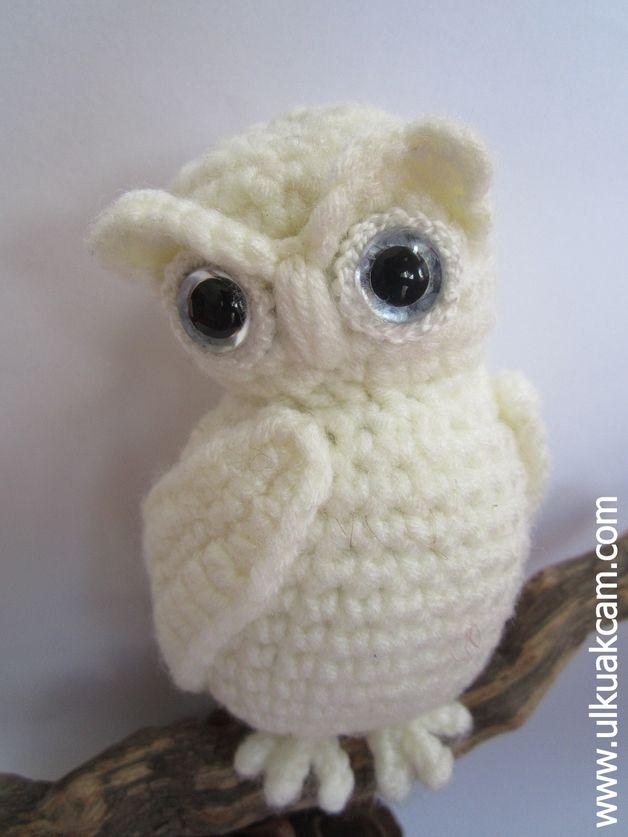 Schnee Eule Häkelanleitung - Snowy Owl Pattern   Pinterest   Eule ...