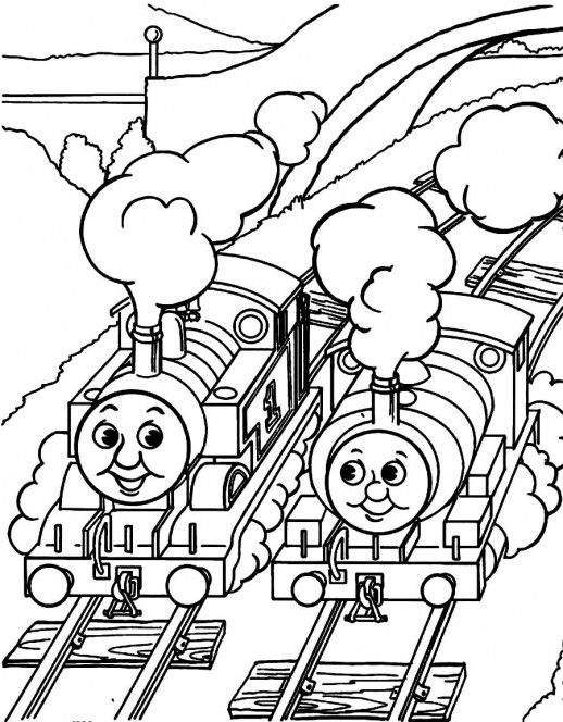 Thomas And Friends Printable Colouring Pages Thomas And Friends Printable Colouring Pages Train Coloring Pages Cool Coloring Pages Train Crafts