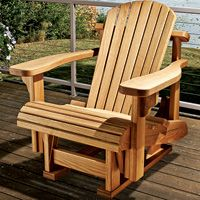 Adirondack Single Glider Template W Plan Woodworking Bench Plans Glider Rocker Woodworking Plans Chair Woodworking Plans