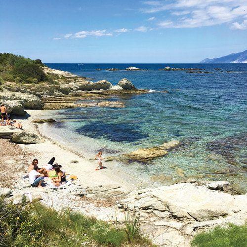 Quiet Coves Near Saint Flo Corsica
