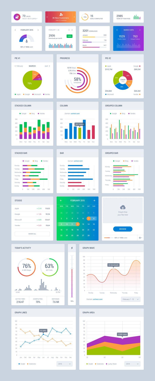 Dribbble social app ui design jpg by ramotion - Dribbble Dashboard_light Jpg By Sergey Azovskiy Dashboard Designui