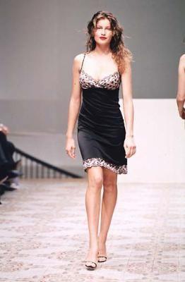 Laetitia Casta - Colette Dinnigam Ready-To-Wear Spring/Summer 1998.