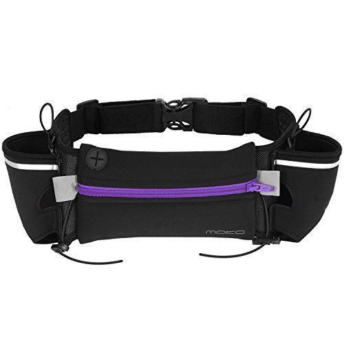 76ea3032e36a Hydration Running Belt Waist Pack MoKo Multifunction Sports Fanny ...