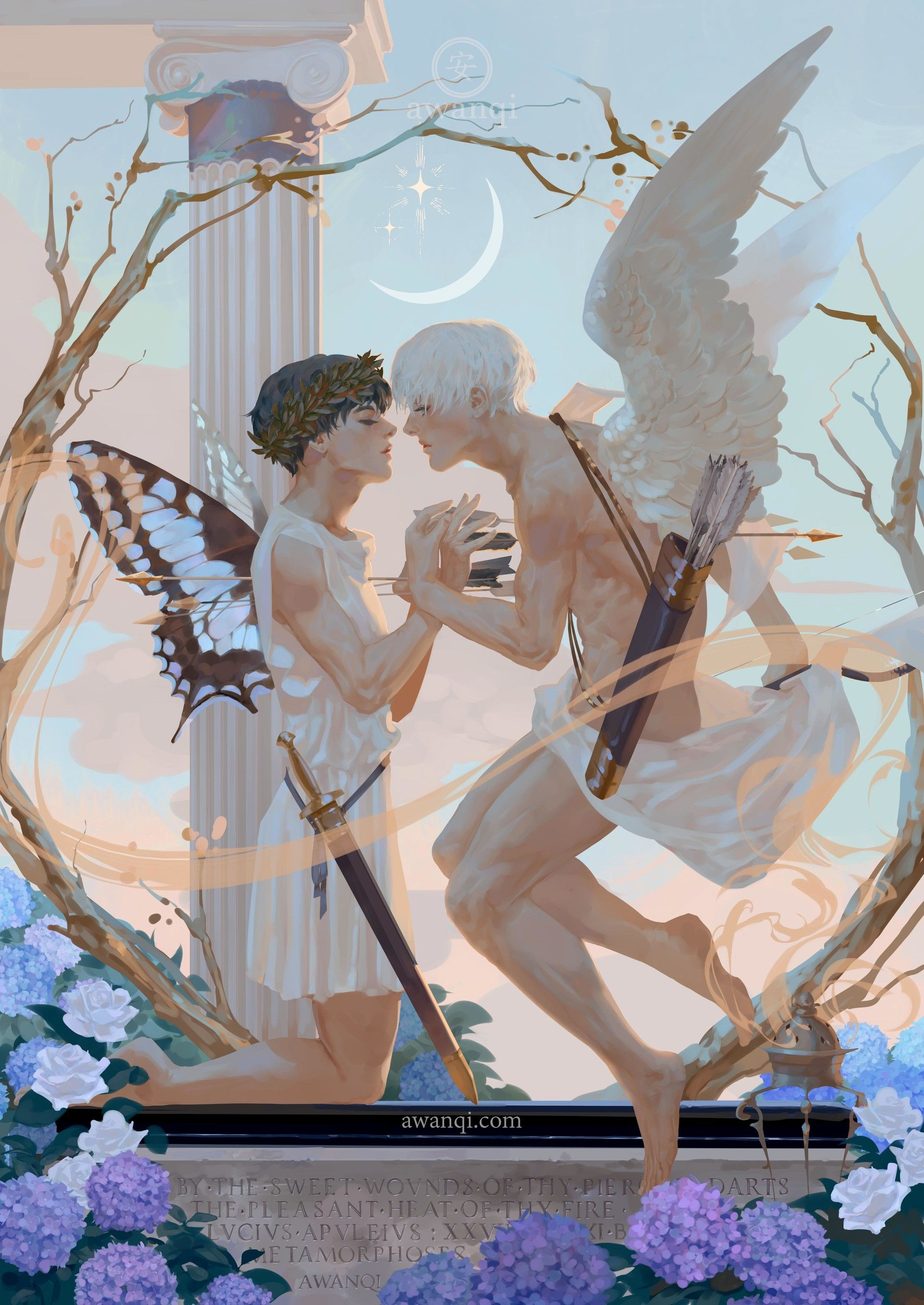 for a fanbook eros and psyche myth