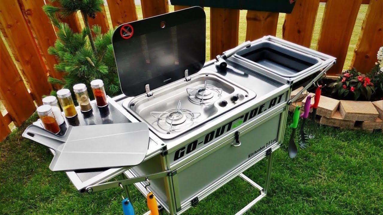 Kitchenbox 2.0 Lux Camping und OutdoorKüche Camping