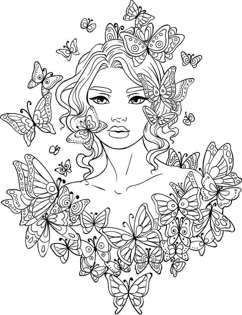 Pin On Coloring For Grown Ups
