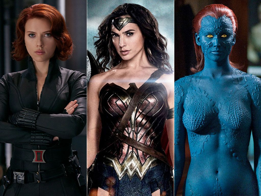 Female Superheroes Ranked: Wonder Woman, Catwoman, Black ...