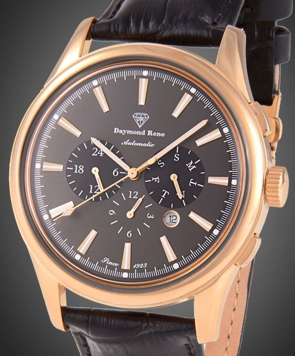 Daymond René -Grande Multifunction Chronograph Rose Gold  4062d67f9a