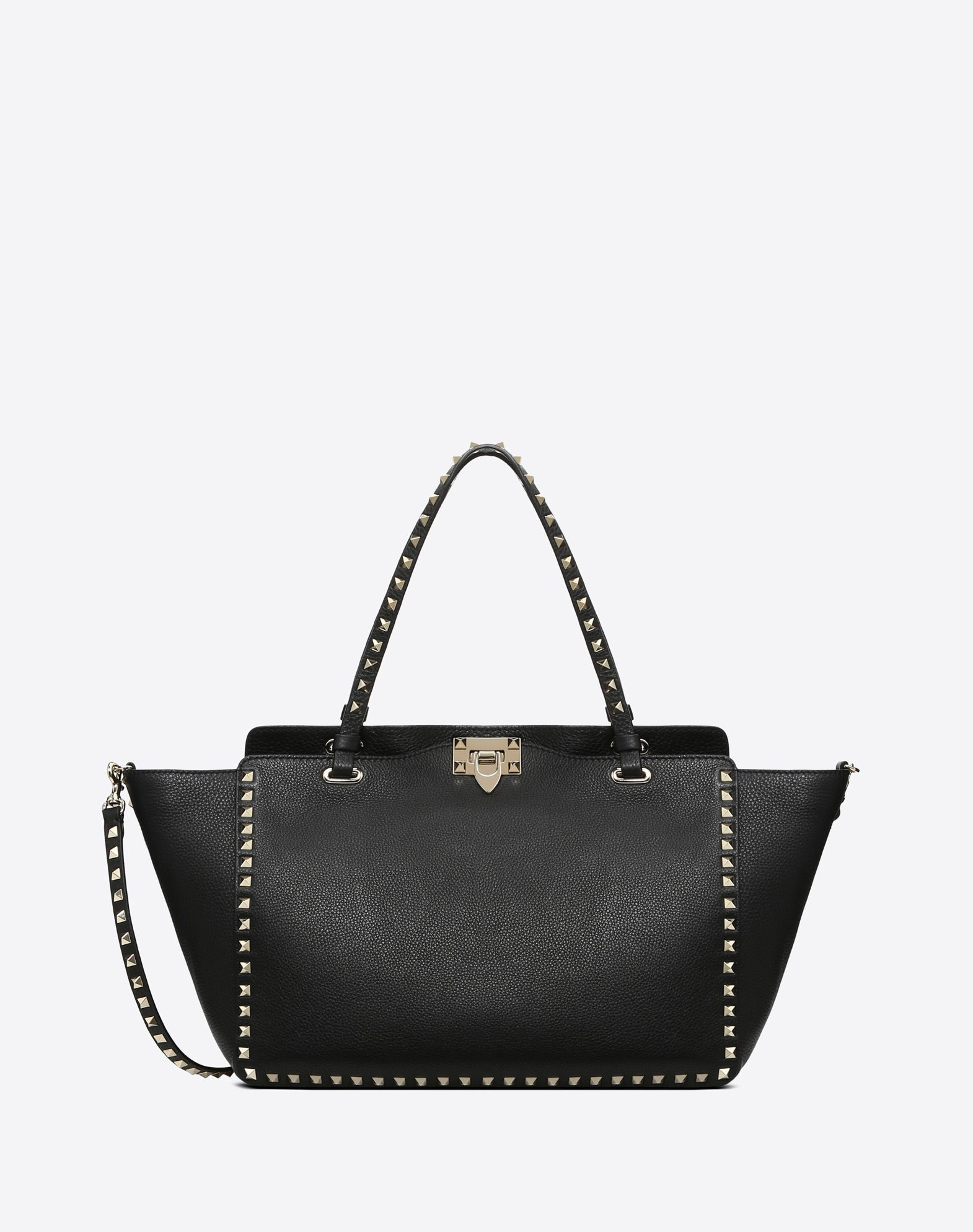 dbcdd40420 Large Rockstud Tote for Woman | Valentino Online Boutique 2695 ...