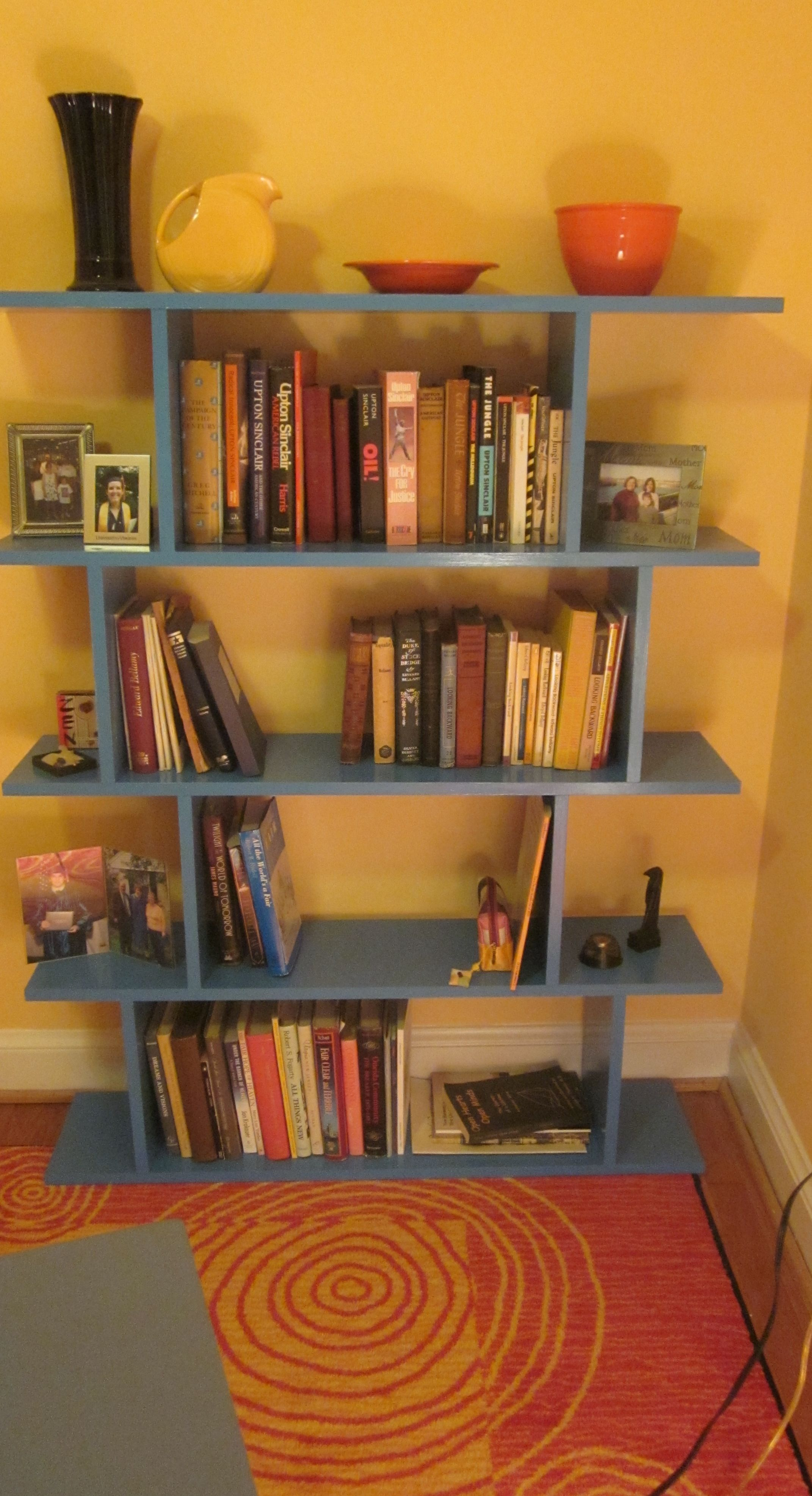 The look for much less diy open shelving apartment therapy my turquoise version of do it yourself shelf from apartment therapy via pinterest solutioingenieria Images