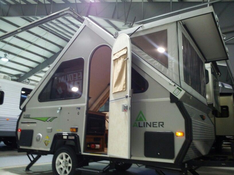 2014 Aliner Classic with soft dormer <3 | Happiness | Pinterest