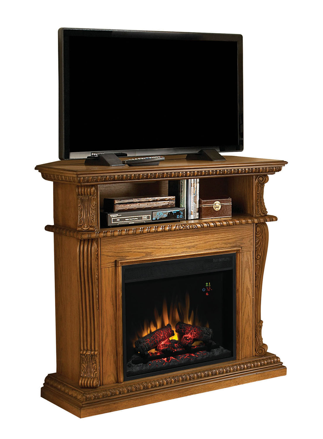 Classicflame Corinth Electric Fireplace W 23 Infrared Quartz