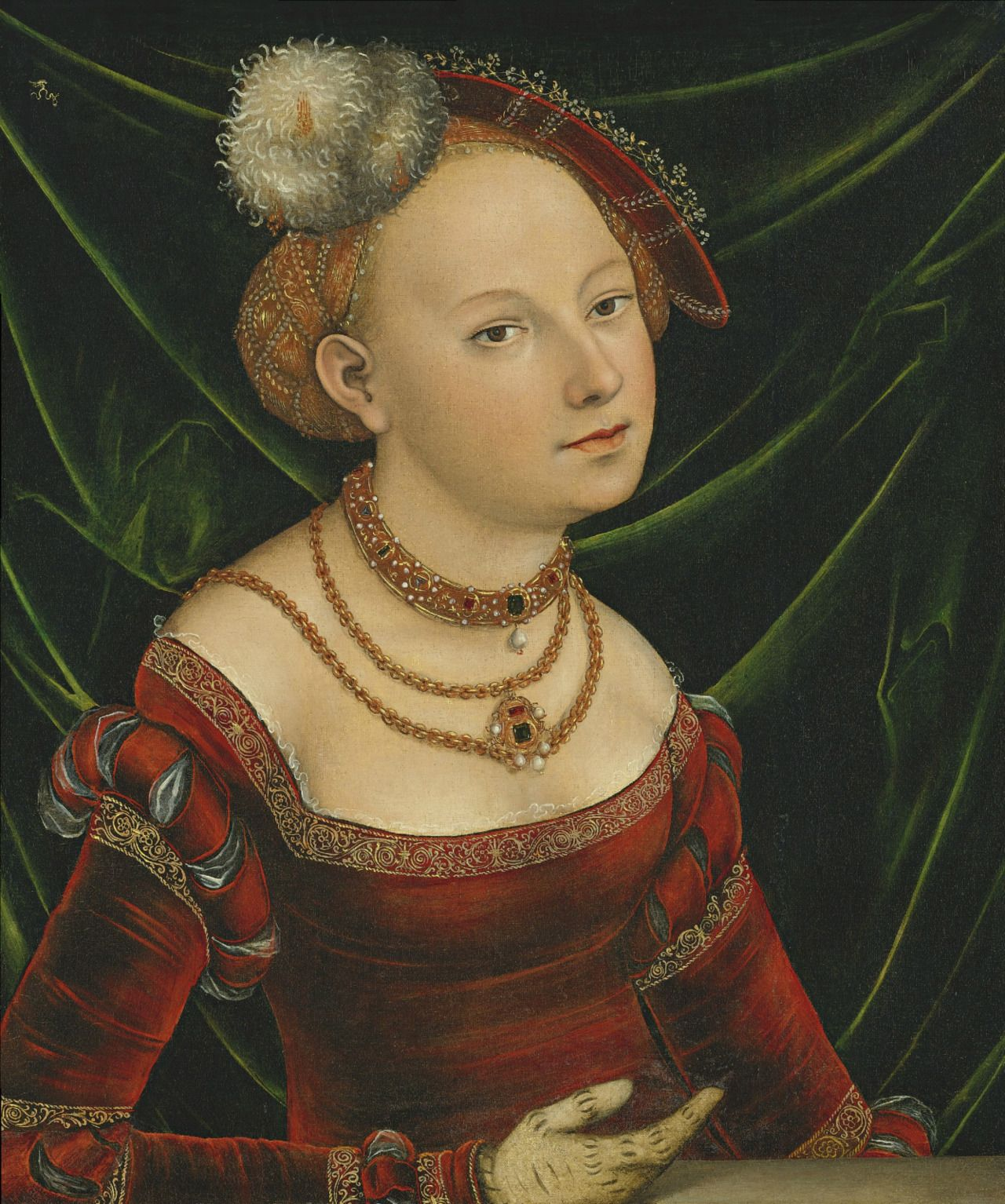 Simple version of the cranach gown Lucas Cranach the Younger ...