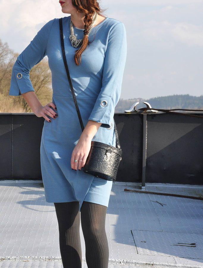 Fernweh Outfit mit Scarosso | Outfit, Blaues kleid und Kleider