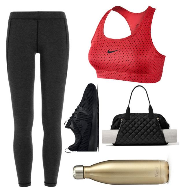 """""""Yoga chic"""" by itsmaggie4 on Polyvore featuring James Perse, NIKE, Kate Spade and S'well"""