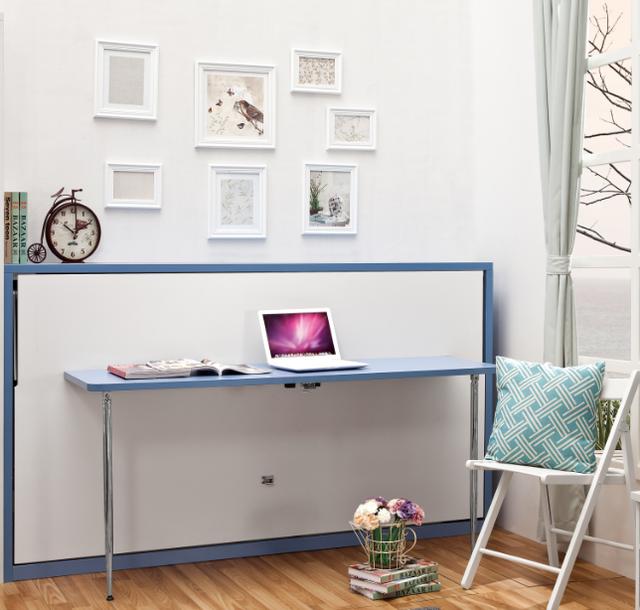 Source Lastest hot sale single horizontal hidden wall bed